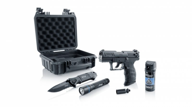 Walther P22Q Ready 2 Defend készlet