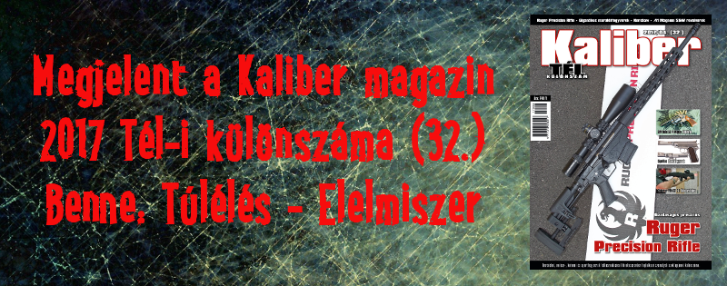 Megjelent a Kaliber Magazin 2017 Tél-i különszáma